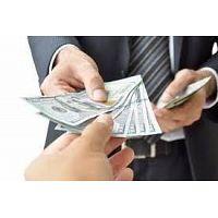Oferta de empréstimo urgente entre indivíduos.